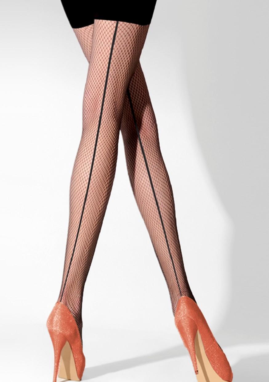 6028e742e0b Home   Spodní prádlo   Dámské   Punčochy   Punčochové kalhoty rete jemná  síťka se švem