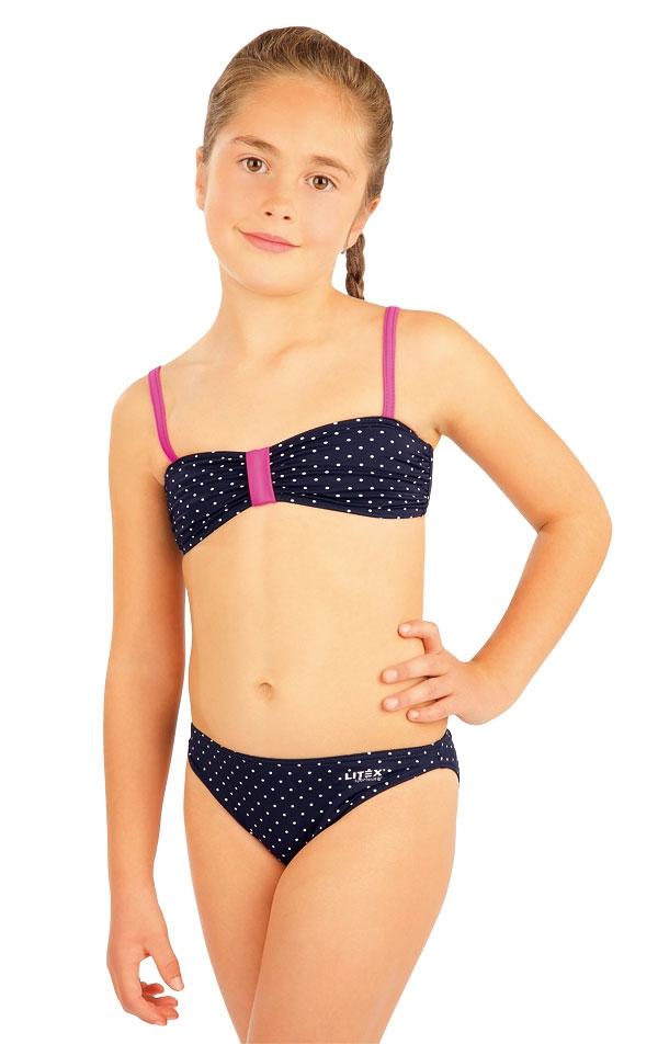Dívčí plav.podprsenka BANDEAU bez výztuže Litex  078150d3cf